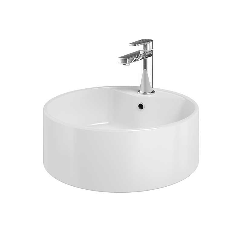 Image of   RONDO fritstående porcelænsvask