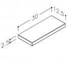 hylde-simpel-30-tegning
