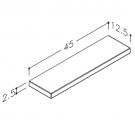 hylde-simpel-45-tegning