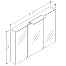 spejlskab-wave-100-3-tegning-800×800