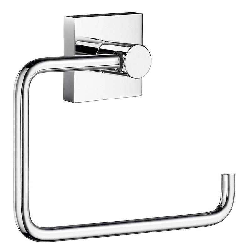 Image of   Smedbo toiletpapirholder - krom, messing eller matsort